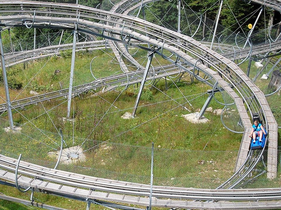 Eine Fahrt mit dem Hasenhorn-Coaster i...drang hat auch seine Schattenseiten.    | Foto: Angelika Schmidt