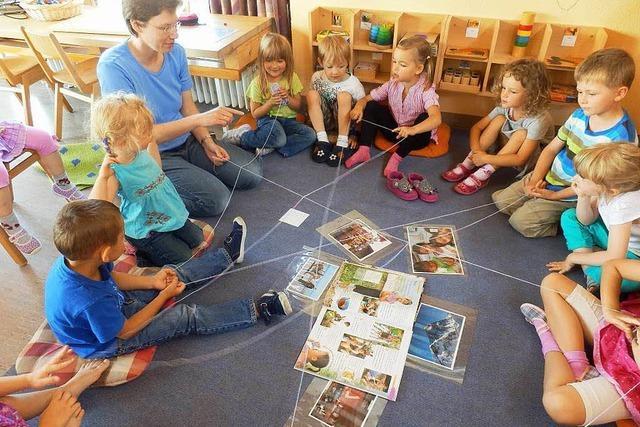 Projekt im Kindergarten gegen Schubladendenken und Fremdenfeindlichkeit