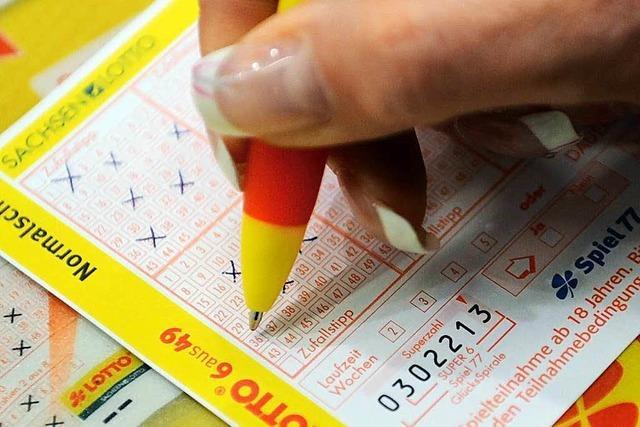 Lotto-Fieber ist in Offenburg 30 Prozent höher als im Landesschnitt