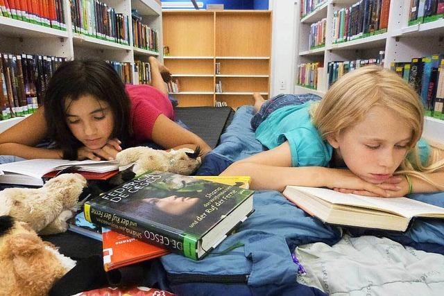 Stadtbibliothek wird auch in den Ferien rege genutzt