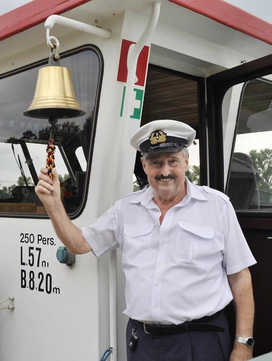Willkommen an Bord bei Hermann Josef Goedert   | Foto: Julius Steckmeister