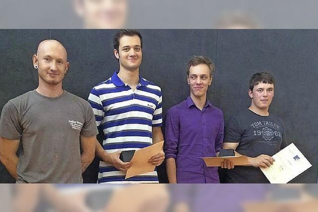 Preis für vier Schüler