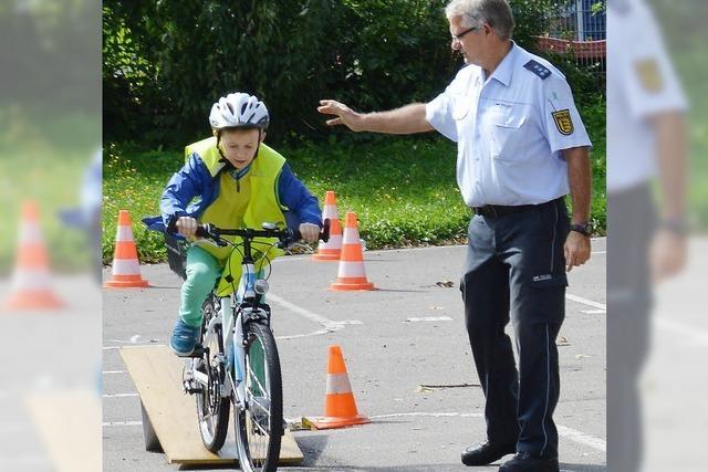 Rad-Schläge der Polizei