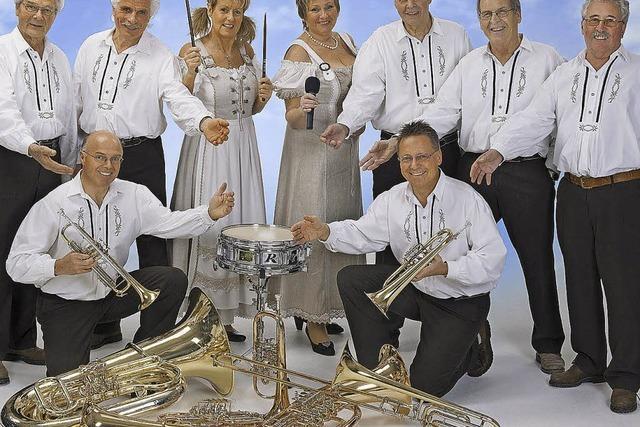 Schweizer Blaskapelle präsentiert böhmische Musik