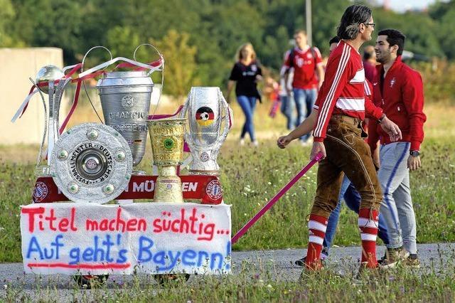 Die Bayern schleppen sich zum ersten Saisonsieg