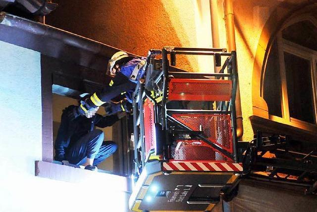 Brand in der Werderstraße in Lahr – Keine Verletzten