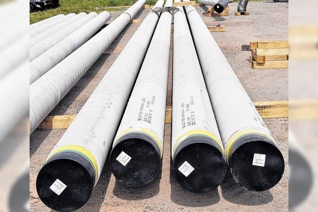 Millionen für die Gasversorgung