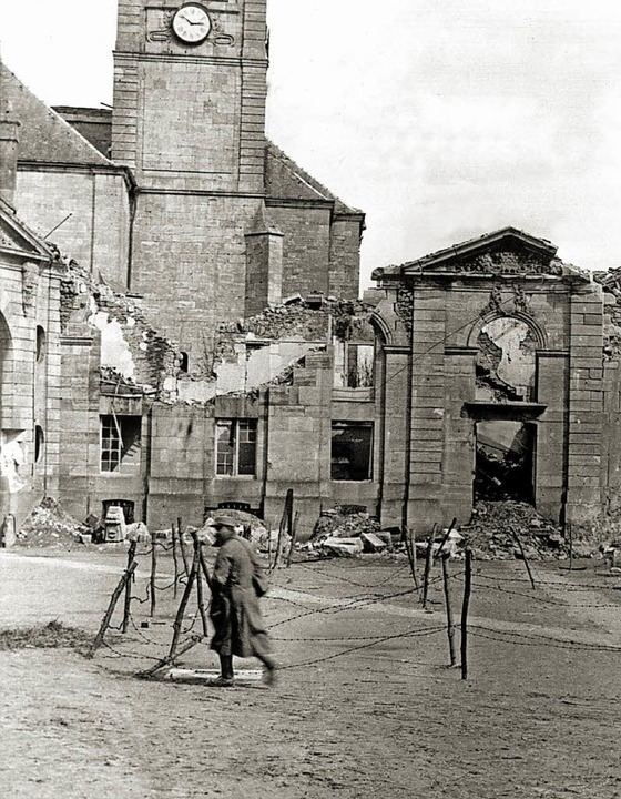 Zurück bleiben  Ruinen.   | Foto: dpa