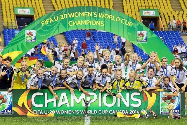 Weltmeister: U20-Frauen holen den nächsten Titel