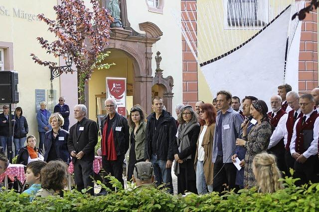 Finissage des Kunstsommers St. Märgen