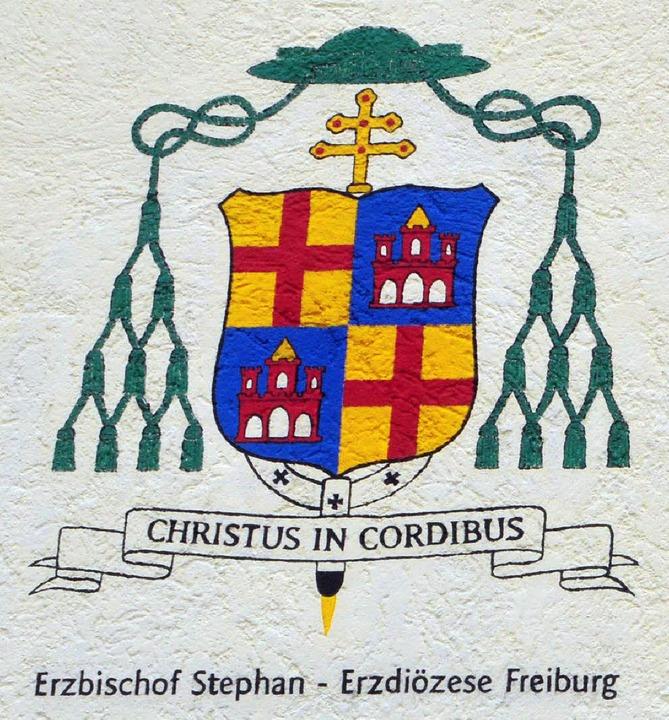 Das Wappen des Erzbischofs  | Foto: Ottmar Heiler