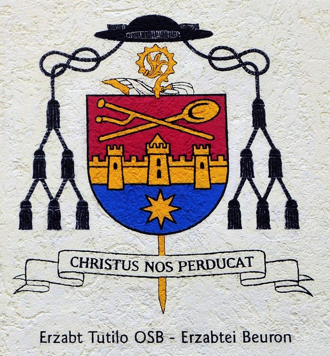 Das Wappen des Erzabts  | Foto: Ottmar Heiler