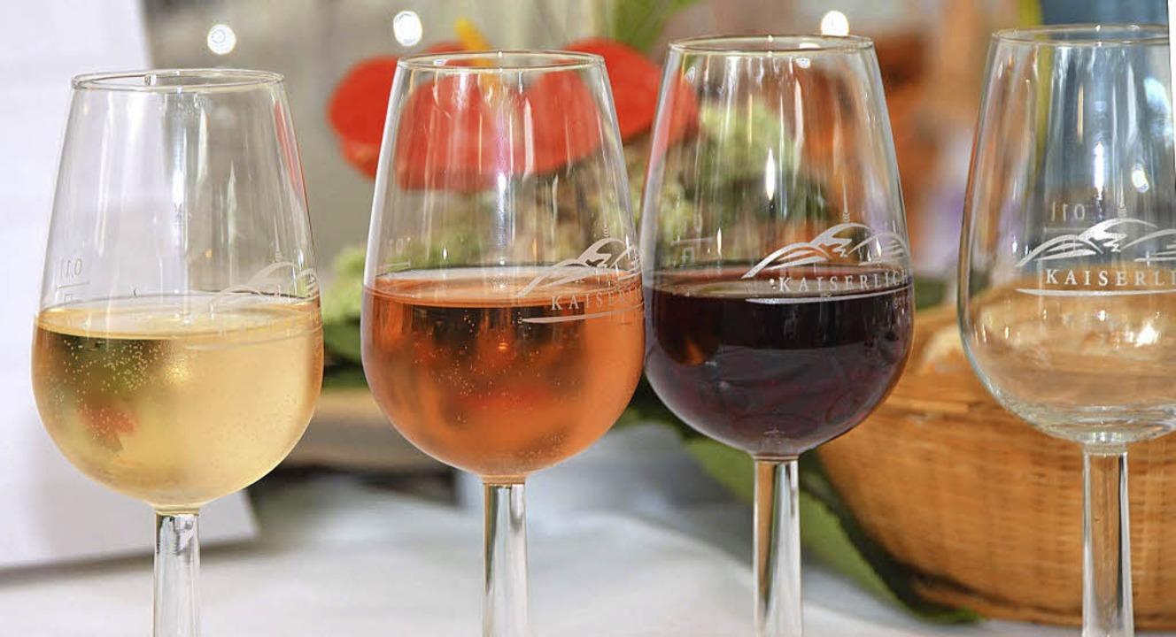 Für jeden Geschmack: Das Breisacher We...bietet die unterschiedlichsten Weine.   | Foto: Gerold Zink