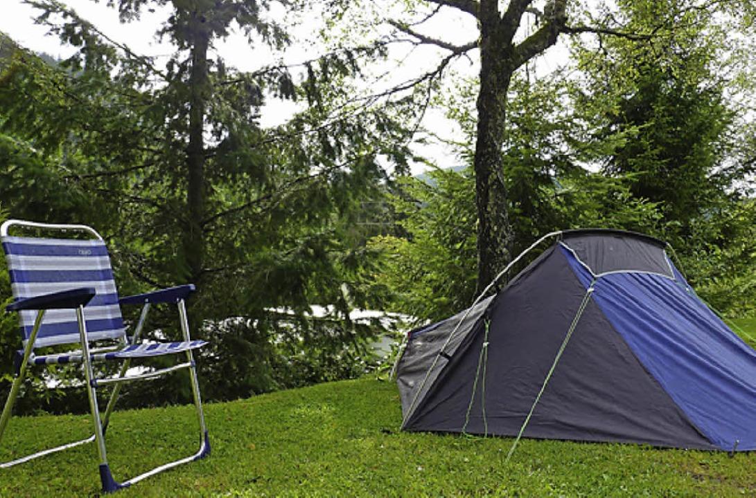 Zelte müssen jetzt beweisen, dass sie ...ls nicht<ppp></ppp>  &#8211; schlecht!  | Foto: Dirk Sattelberger