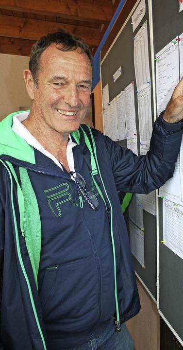 Das Tennis-Senioren-Turnier im Hochsch...Akribie. <BZ-HZueberBU></BZ-HZueberBU>  | Foto: maurer