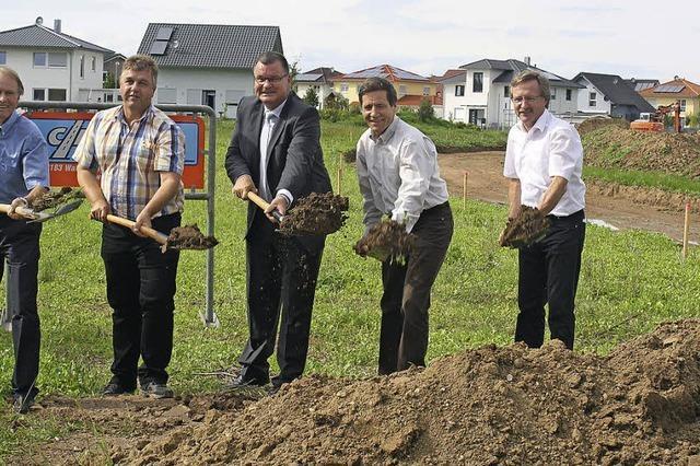 55 Bauplätze stehen im Frühjahr zur Verfügung