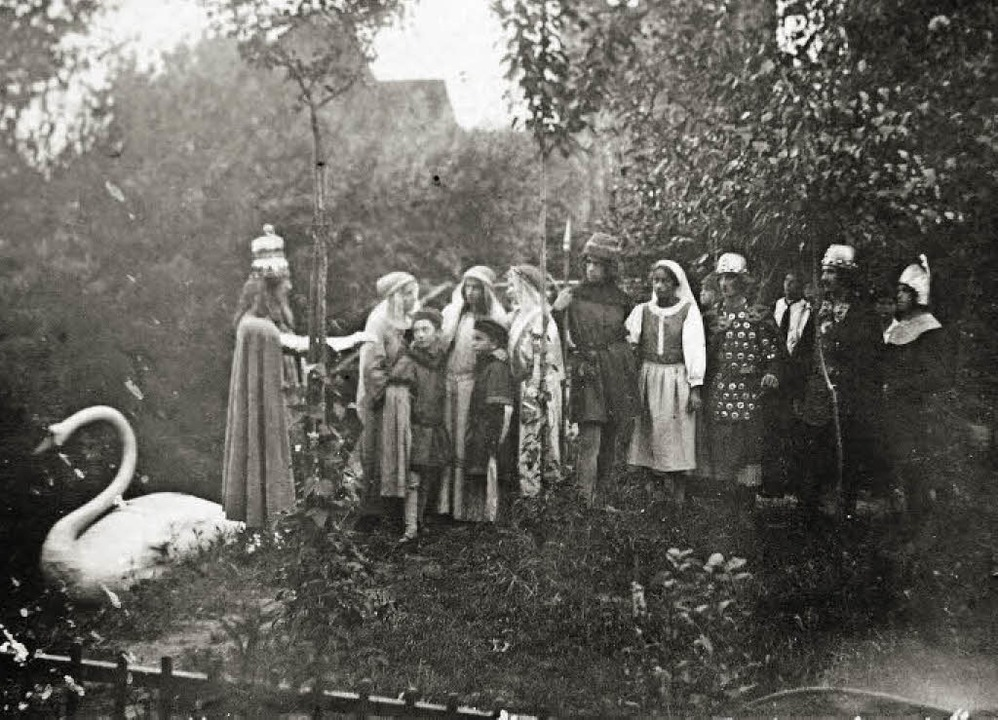 Szene aus dem Schwanritter    Foto: Privat