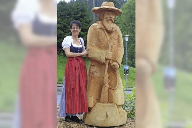 Der legendäre Lochheiri in Holz gefasst
