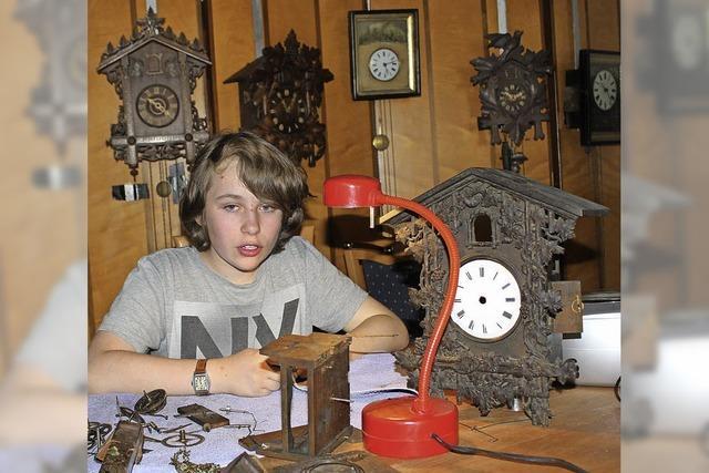 Begeistert von alten Uhren