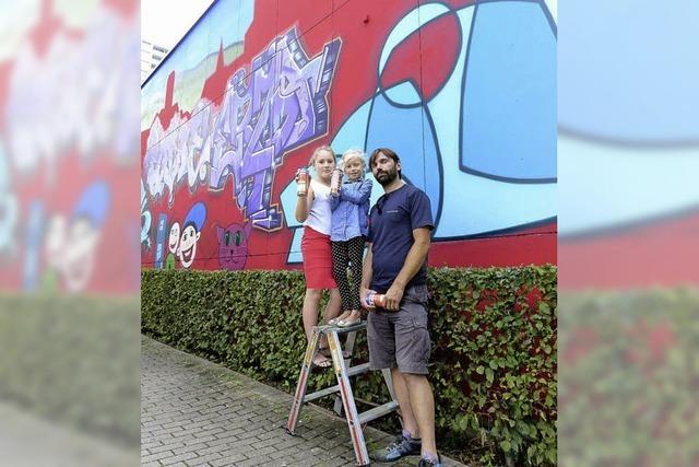 Ganz legale Graffiti-Kunst