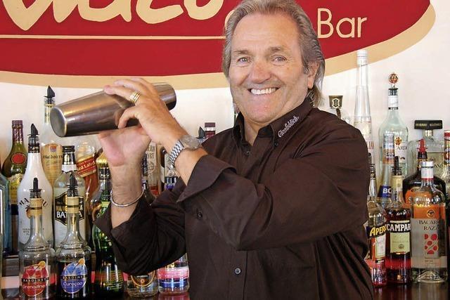 Barkeeper Sigi Späth: Bei der Marine lernte er das Mixen