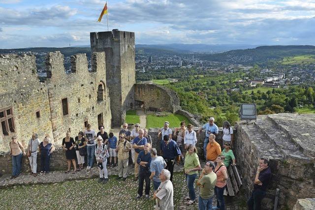 Tiefe Einblicke auf Burg Rötteln