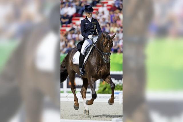 Helen Langehanenberg wird bei der Dressur-WM Zweite