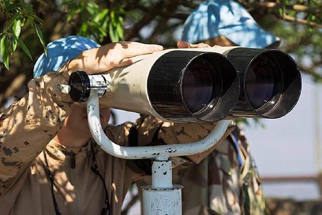 Kämpfe zwischen Blauhelmen und IS-Truppen