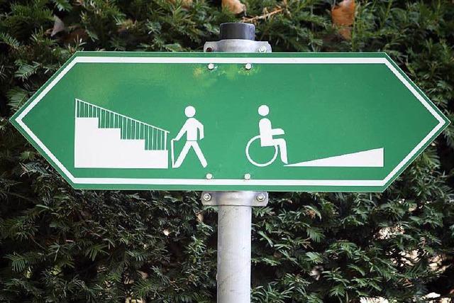 Behindertengerechtes Bad Säckingen? Mit dem Rollstuhl durch die Stadt