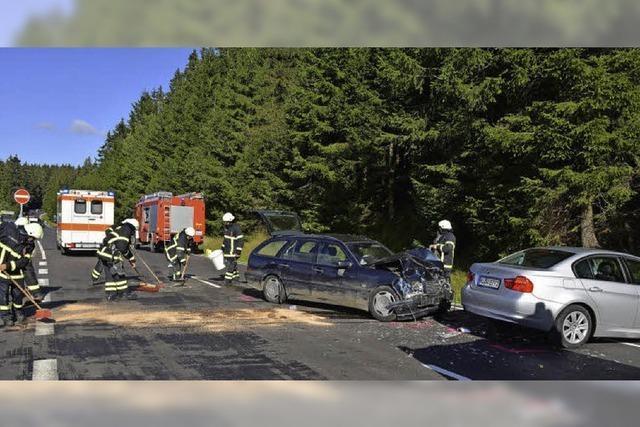 Sechs Personen werden verletzt