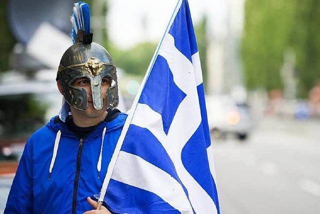 Griechen wollen die Steuern senken