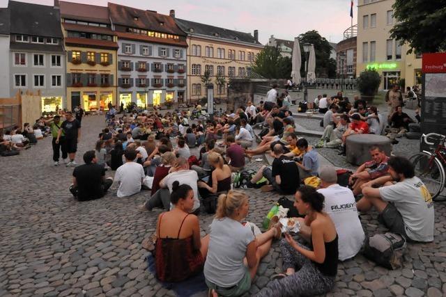 Freiburger Polizei zeigt Präsenz in innerstädtischen Problemzonen