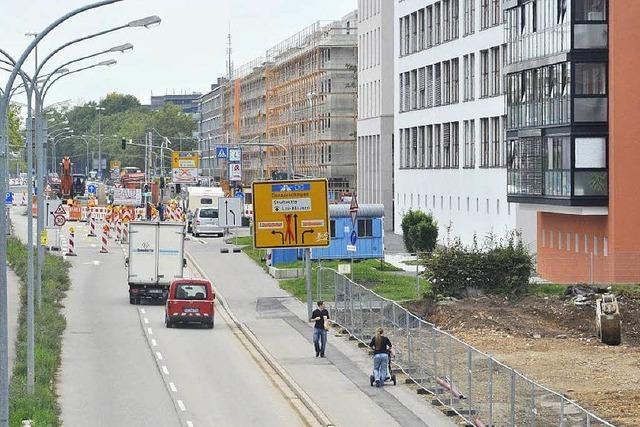 Die Tram kommt: Berliner Allee verändert sich