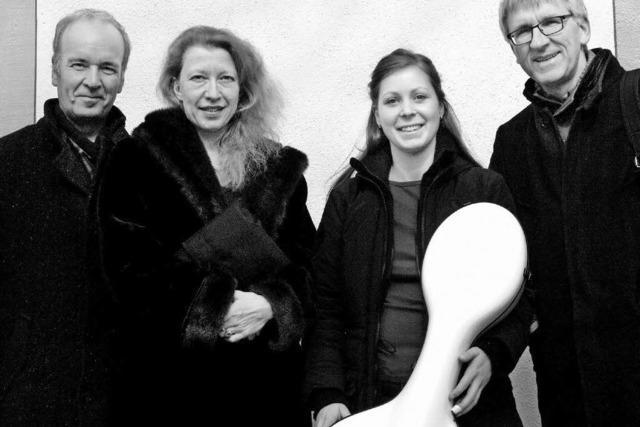 Ensemble Decouvertes gastiert in der Ludwigskirche in Herdern