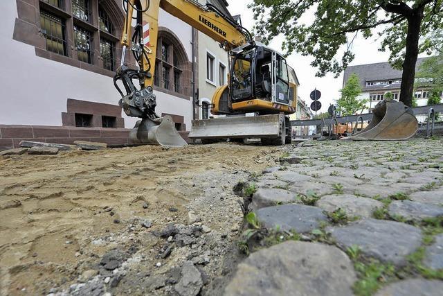 Turmstraße wird gepflastert