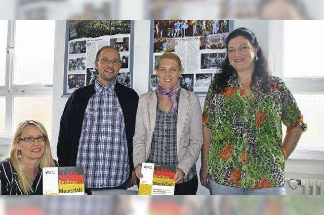 VHS-Schwerpunkt: Berliner Mauerfall