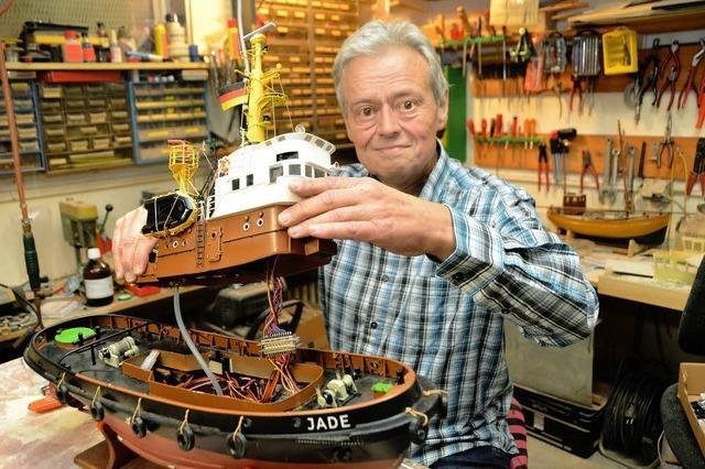 Ralph Reinhold aus Glottertal: Ein Kapitän mit vielen kleinen und großen Schiffen