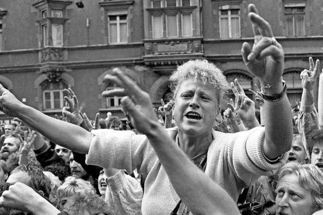 Erinnerung an das Ende der DDR
