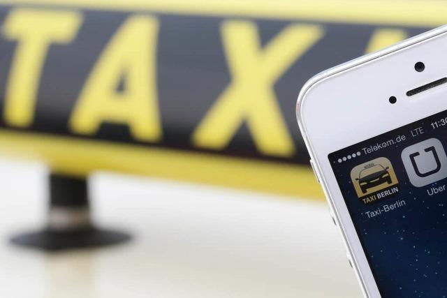 Konkurrenz-App Uber: Freiburgs Taxifahrer sind not amused