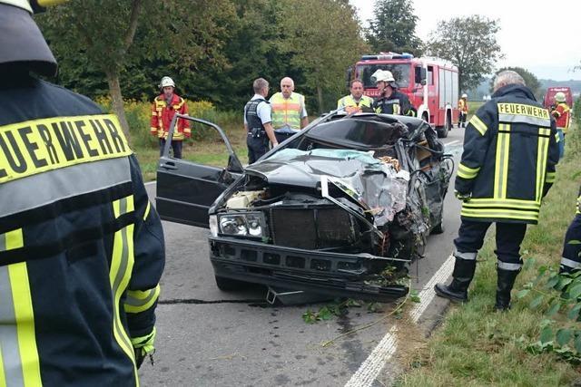 Tödlicher Verkehrsunfall zwischen Merdingen und Ihringen