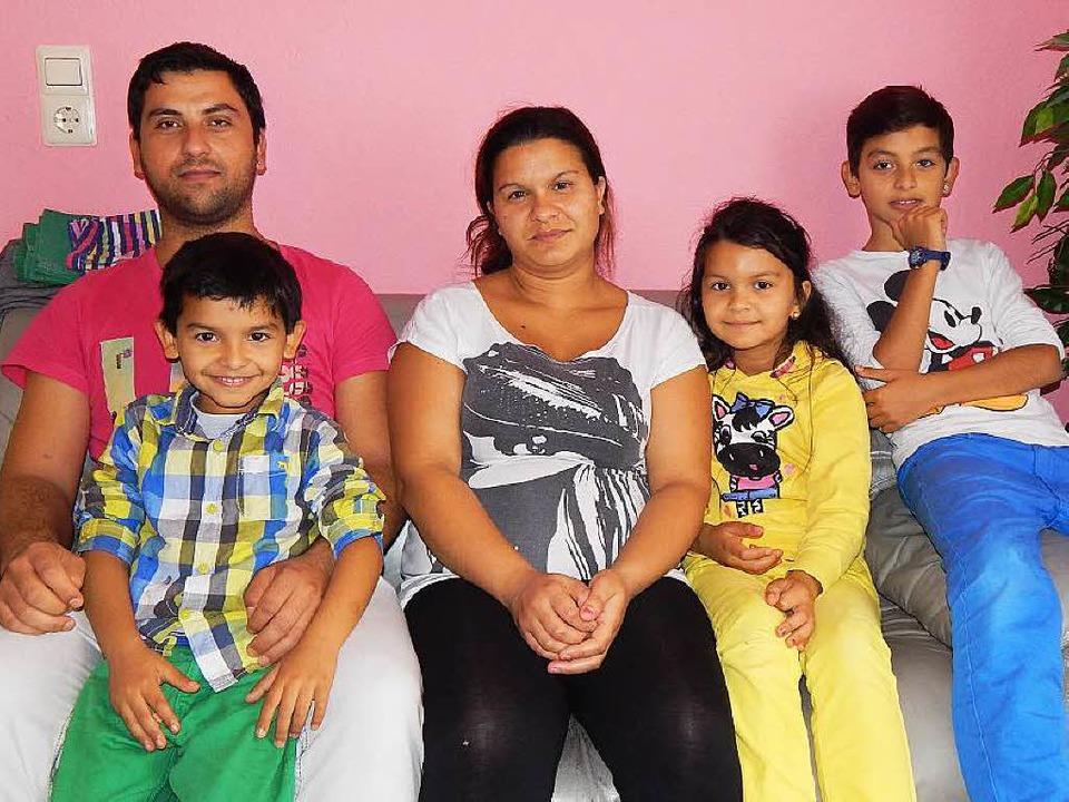 Familie Asani/Asanovic lebt seit zwei ...Waldkirch und hat sich gut integriert.  | Foto: Sylvia Timm