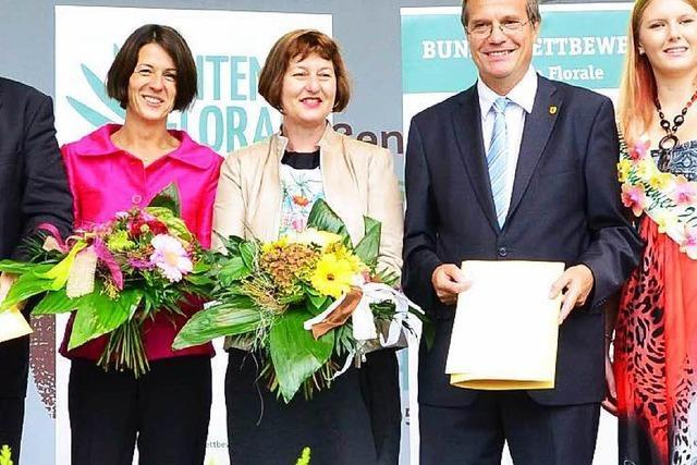 Entente Florale: Goldmedaille plus Sonderpreis für Rheinfelden