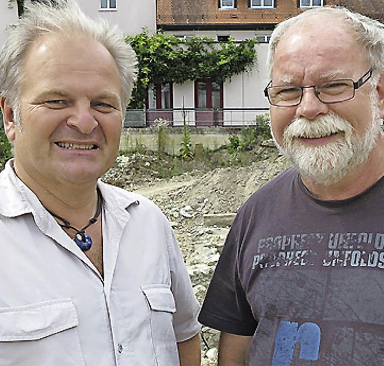 Bertram Jenisch (links) und Stephan Kaltwasser  | Foto: Dorothee Philipp