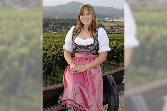 Weinprinzessin Verena Ambs : Eine Hoheit mit Sinn für Geschichte