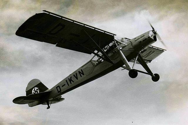 Im Zweiten Weltkrieg dienten Viehweiden im Dreisamtal als Flugplatz