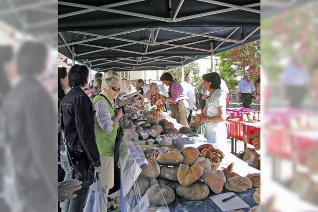 Deutsch-französischer Brotmarkt in Müllheim