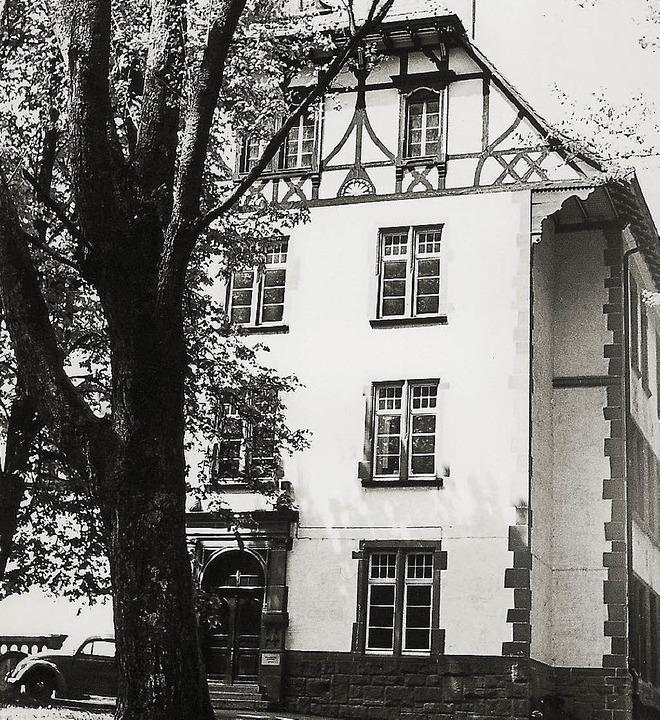 Die Ernst-Leitz-Schule war das erste Firmendomizil von Hekatron in Sulzburg.   | Foto: Hekatron