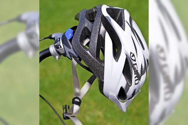 Nie ohne Helm aufs Rad