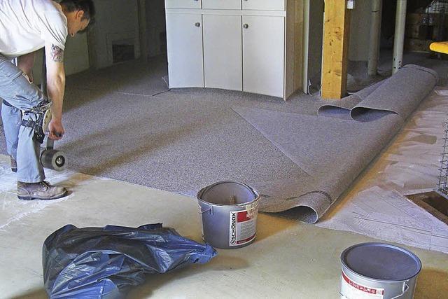 Selbstlöschender Teppich