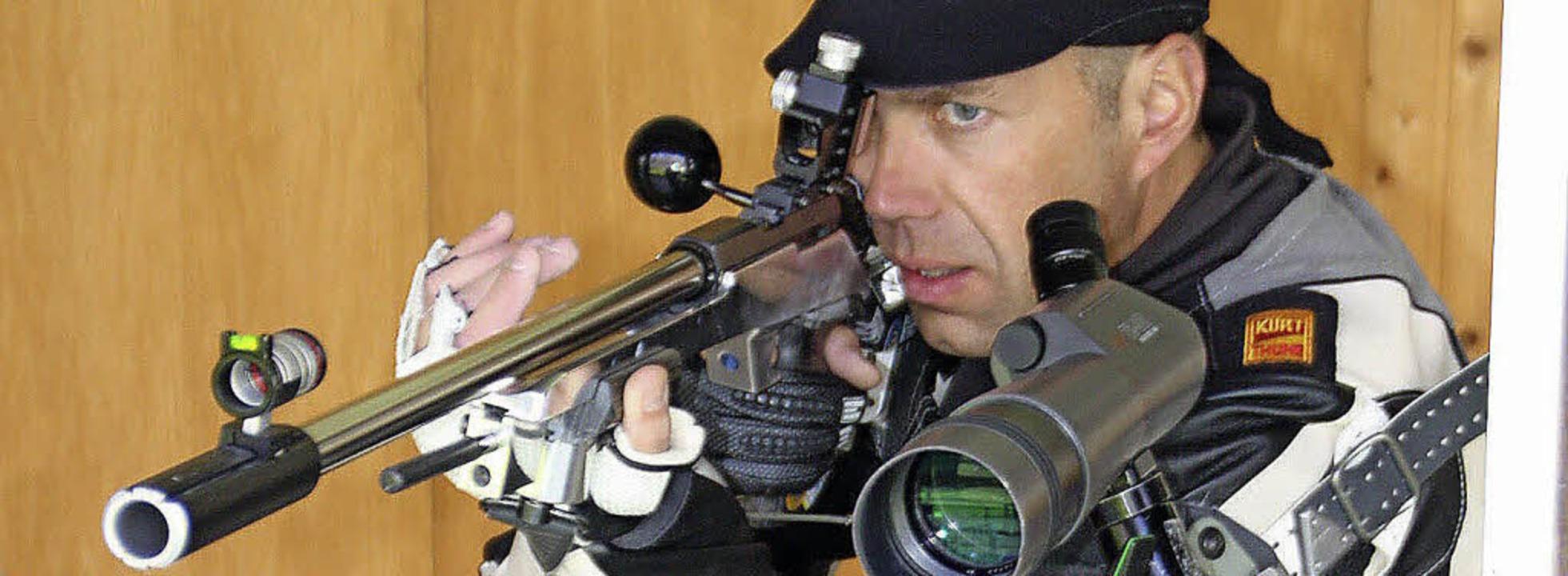 Konzentration ist wichtig für Sportschützen.   | Foto: Archiv: Jörn Kerckhoff